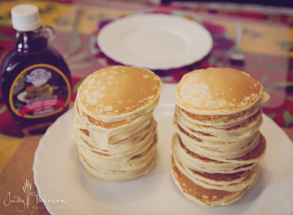 Pancake Twin-Tower Stack
